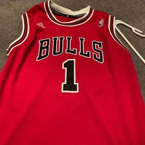 Youth large Bulls Jersey Rose